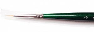 Купить Кисть синтетика №5/0 круглая споттер Pinax Creative 271 короткая ручка, Китай
