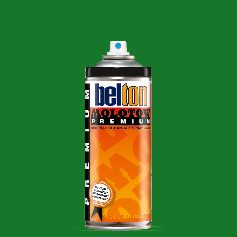 Купить Аэрозольная краска Molotow Premium belton 400 мл #160-1 leaf green middle, Германия