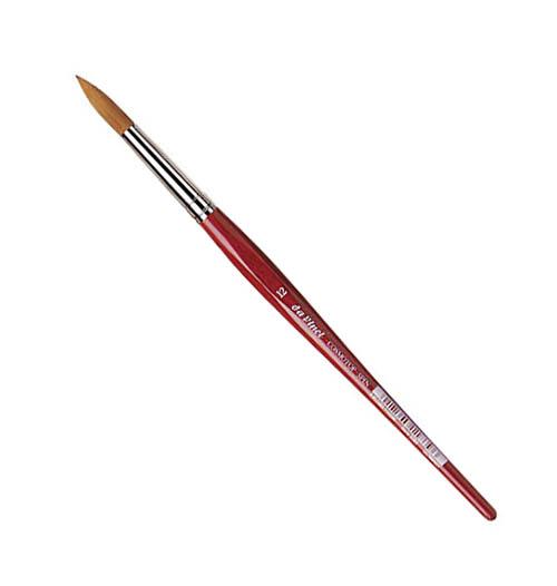 Купить Кисть синтетика №12 круглая Da Vinci 5580 короткая ручка, Германия