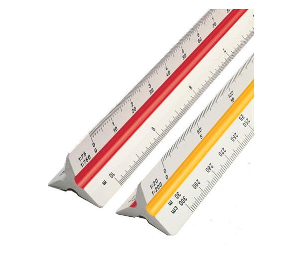 Купить Линейка масштабная 30 см (20/25/50/75/100/125) Domingo ferrer, Испания