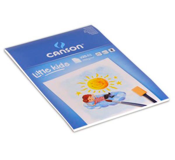Купить Альбом-склейка для рисования Canson Детское творчество А3 20 л 200 г, Франция