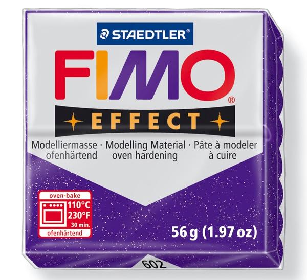 Купить Пластика для запекания Staedtler Fimo Effect 56 г лиловый металлик, Германия