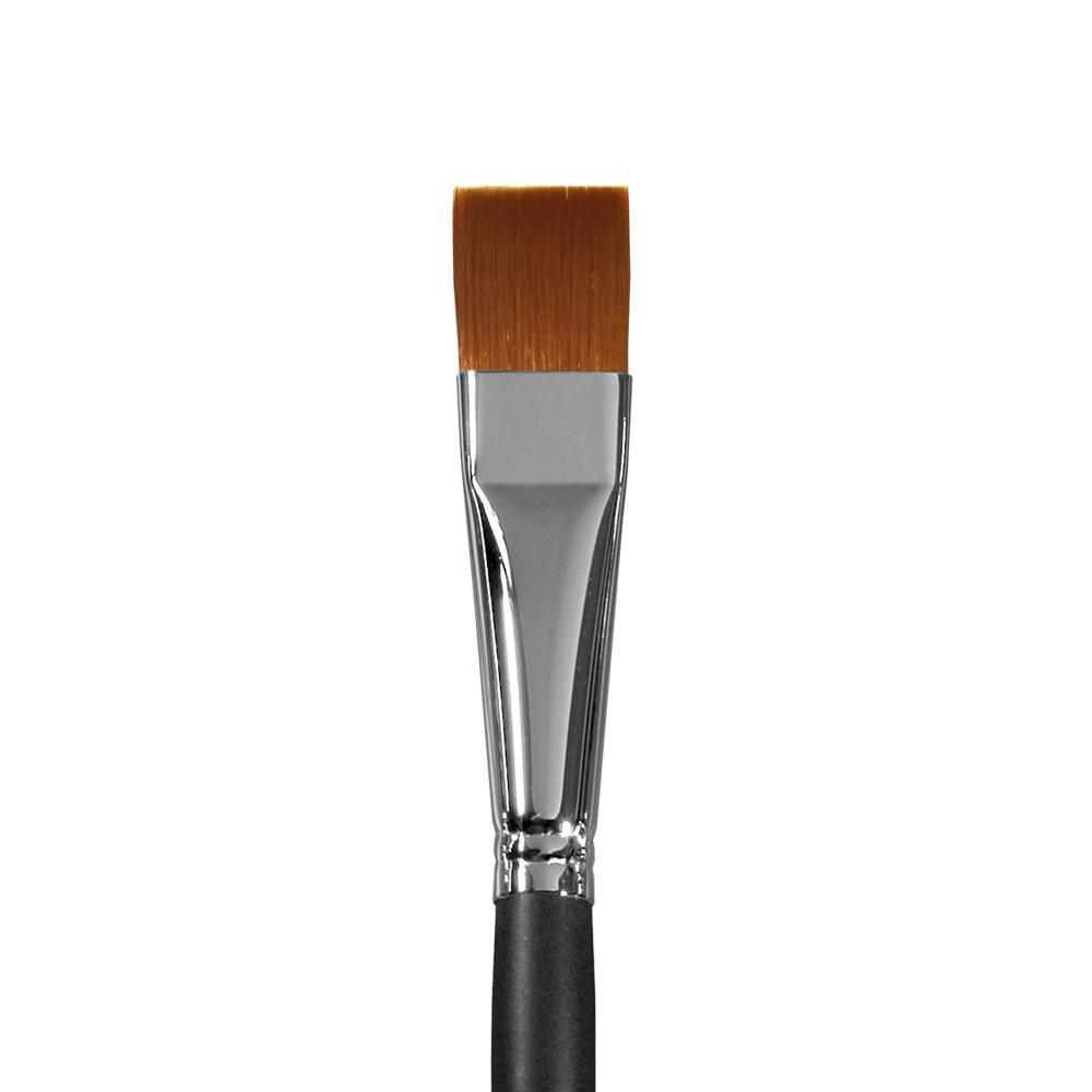 Купить Кисть синтетика №20 плоская Альбатрос Профи длинная ручка, Россия