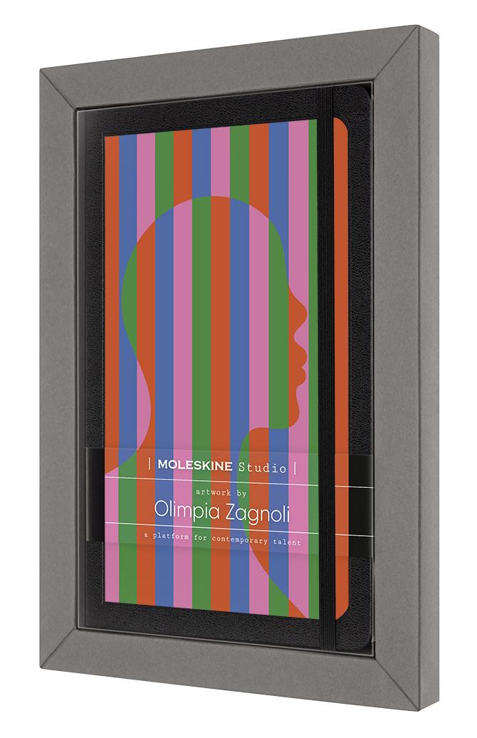 Блокнот в линейку Moleskine STUDIO 13x21 см 240 стр. Olimpia Zagnoli.