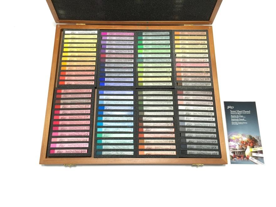 Купить Набор сухой пастели Mungyo Semi hard pastel 96 цв полутвердая, Южная Корея