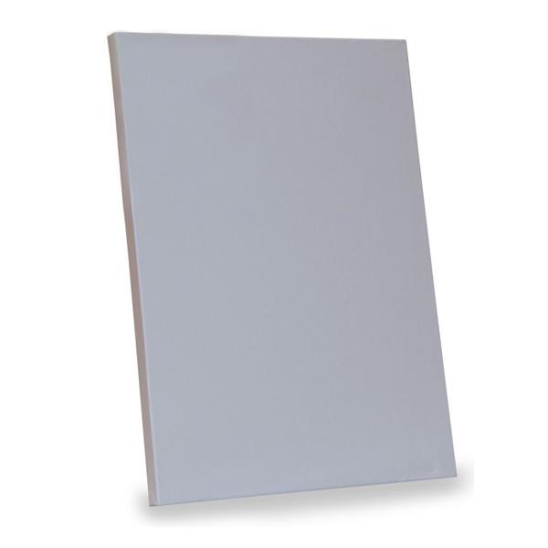 Купить Холст грунтованный на картоне Мастер-Класс 18x24 см, светло-серый, Невская Палитра, Россия