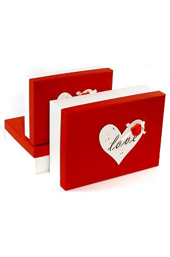 Купить Коробка картонная Элеганс прямоугольная 21х29 см, Grand gift, Китай