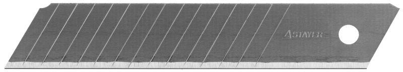 Лезвия Stayer Profi сегментированные 18 мм 10 шт в боксе, Германия  - купить со скидкой