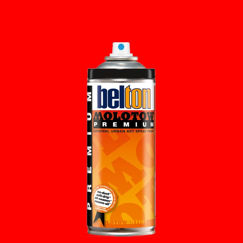 Купить Аэрозольная краска Molotow Premium belton 400 мл #236-1 ANTISTATIK NEON red, Германия