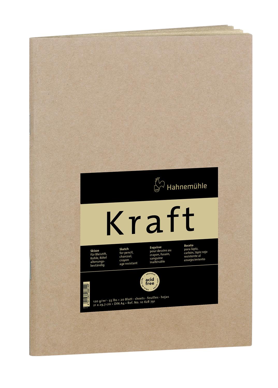 Купить Блокнот для набросков Hahnemuhle Kraft А4 20 л 120 г, HAHNEMUHLE FINEART, Германия