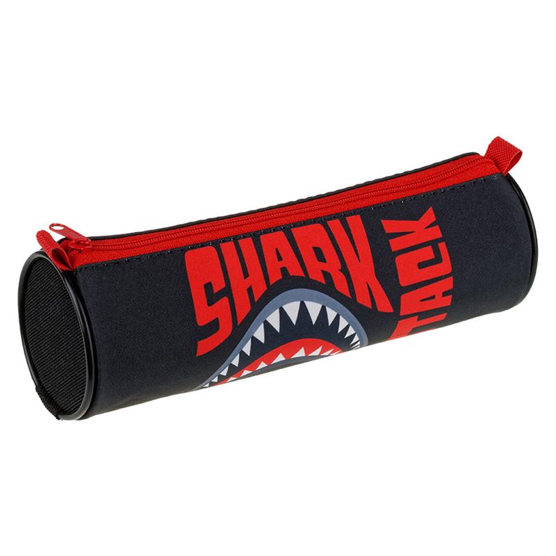 Купить Пенал-тубус Berlingo Shark 210*70 мм, полиэстер, Россия