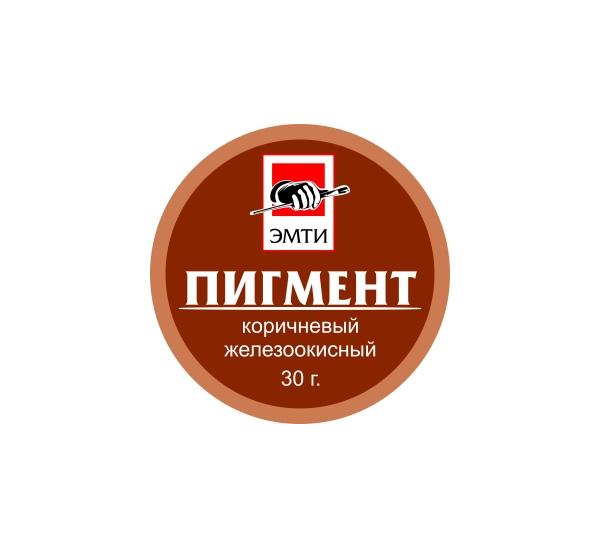 Купить Пигмент Эмти Коричневый железоокисный 30 г, Россия
