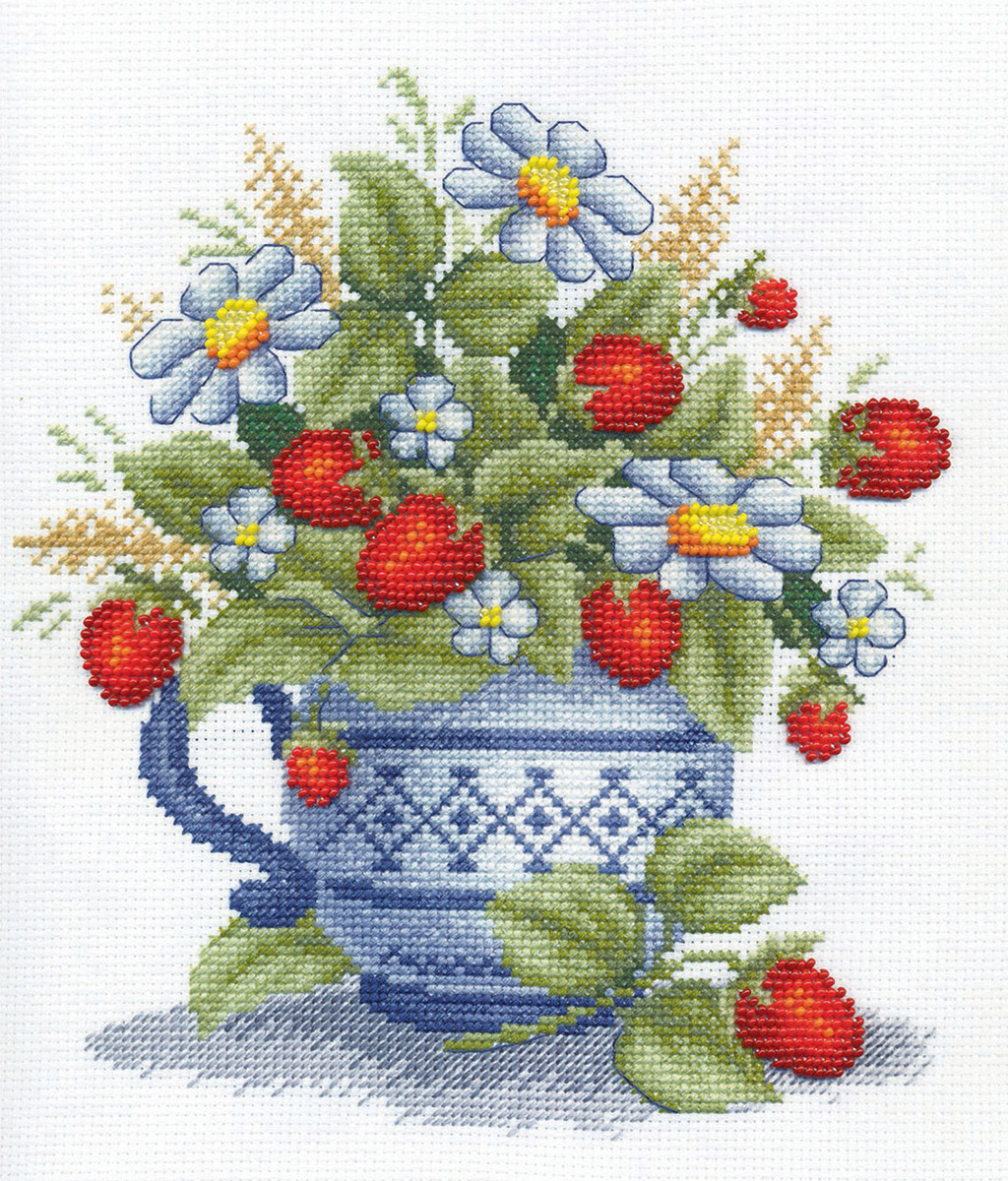 Купить Набор для вышивания PANNA Земляника , Gamma, Россия