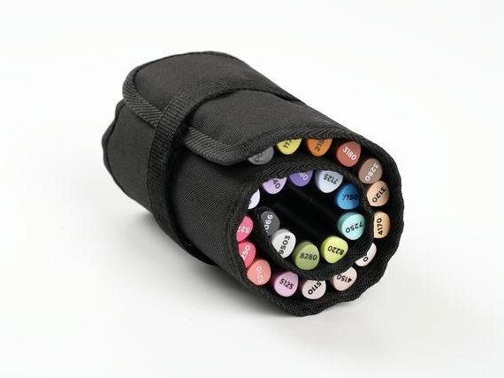 Купить Пенал-Свиток для 24 маркеров пустой GRAPH'IT, Китай
