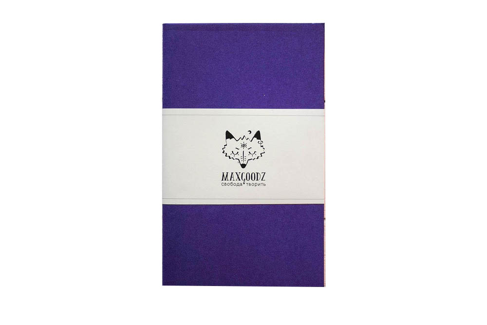 Купить Скетчбук Maxgoodz Classic Aqua А5, 26 л, 230 г Фиолетовый, Россия