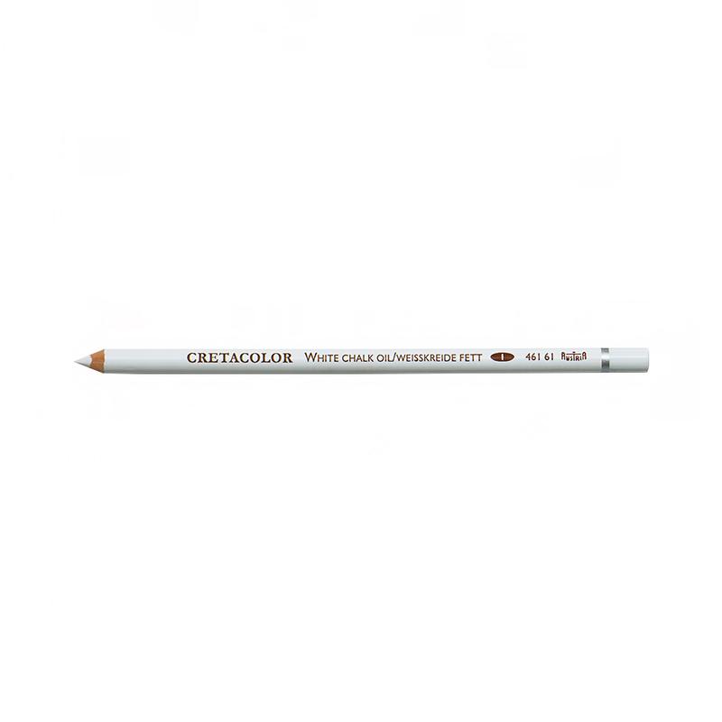Купить Карандаш масляный художественный Cretacolor Белый мел, мягкий, Австрия