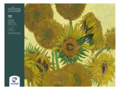 "Альбом-склейка для акварели Talens ""Van Gogh"" National Gallery 30х40 см 12 л 300 г"
