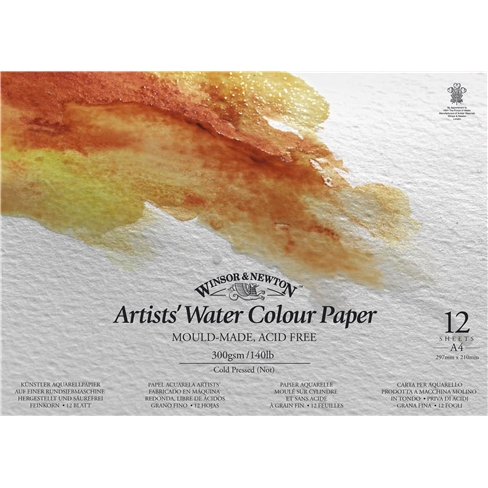 "Альбом для акварели Winsor&Newton ""Artists Water Colour Paper"""