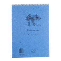 Альбом на спирали для акварели Smiltainis Watercolor pad А3 30 л 280 г