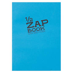 "Блокнот-склейка для эскизов Clairefontaine ""Zap Book"" А5 80 л 80 г"