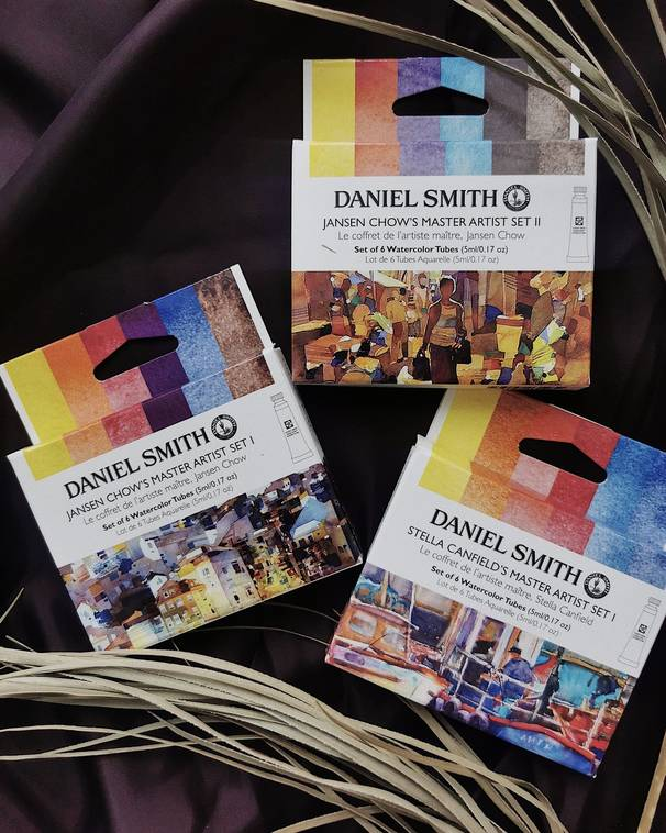 Набор акварели Daniel Smith Stella Canfield's Master Artist Set I, в тубах 6 цв*5 мл